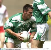 3 August 2003; Michael Lilley, Fermanagh. Bank of Ireland All-Ireland Senior Football Championship Quarter Final, Tyrone v Fermanagh, Croke Park, Dublin. Picture credit; Brendan Moran / SPORTSFILE *EDI*