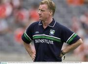3 August 2003; Dominic Corrigan, Fermanagh manager. Bank of Ireland All-Ireland Senior Football Championship Quarter Final, Tyrone v Fermanagh, Croke Park, Dublin. Picture credit; Brendan Moran / SPORTSFILE *EDI*