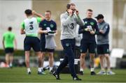 20 March 2018; Manager Martin O'Neill during Republic of Ireland squad training at Regnum Sports Centre in Belek, Turkey. Photo by Stephen McCarthy/Sportsfile