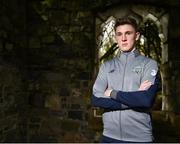 21 March 2018; Jimmy Dunne poses for a portrait following a Republic of Ireland U21 press conference at Dunboyne Castle in Dunboyne, Co Meath. Photo by Seb Daly/Sportsfile