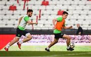 22 March 2018; Declan Rice during a Republic of Ireland training session at Antalya Stadium in Antalya, Turkey. Photo by Stephen McCarthy/Sportsfile