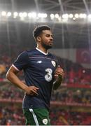 23 March 2018; Cyrus Christie of Republic of Ireland prior to the International Friendly match between Turkey and Republic of Ireland at Antalya Stadium in Antalya, Turkey. Photo by Stephen McCarthy/Sportsfile