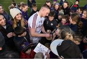 24 March 2018; Joe Canning of Galway signs autographs for supporters following the Allianz Hurling League Division 1 quarter-final match between Wexford and Galway at Innovate Wexford Park in Wexford. Photo by Sam Barnes/Sportsfile