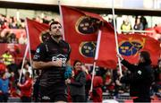 24 March 2018; Tadhg Beirne of Scarlets makes his way out for the Guinness PRO14 Round 18 match between Munster and Scarlets at Thomond Park in Limerick. Photo by Diarmuid Greene/Sportsfile