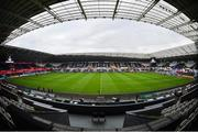 24 March 2018; A general view of the Liberty Stadium ahead of the Guinness PRO14 Round 18 match between Ospreys and Leinster at the Liberty Stadium in Swansea, Wales. Photo by Ramsey Cardy/Sportsfile