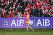 24 March 2018; Paul Schutte of Cuala leaves the field after picking up an injury during the AIB GAA Hurling All-Ireland Senior Club Championship Final replay match between Cuala and Na Piarsaigh at O'Moore Park in Portlaoise, Laois. Photo by Piaras Ó Mídheach/Sportsfile