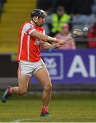 24 March 2018; Mark Schutte of Cuala scores his side's second goal during the AIB GAA Hurling All-Ireland Senior Club Championship Final replay match between Cuala and Na Piarsaigh at O'Moore Park in Portlaoise, Laois. Photo by Piaras Ó Mídheach/Sportsfile