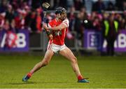 24 March 2018; Mark Schutte of Cuala scores a late point during the AIB GAA Hurling All-Ireland Senior Club Championship Final replay match between Cuala and Na Piarsaigh at O'Moore Park in Portlaoise, Laois. Photo by Piaras Ó Mídheach/Sportsfile