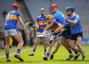 25 March 2018; Cian Darcy of Tipperary in action against Danny Sutcliffe and Rian McBride, right, of Dublin during the Allianz Hurling League Division 1 Quarter-Final match between Dublin and Tipperary at Croke Park in Dublin. Photo by Stephen McCarthy/Sportsfile