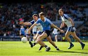 25 March 2018; Cormac Costello of Dublin in action against Ryan Wylie of Monaghan during the Allianz Football League Division 1 Round 7 match between Dublin and Monaghan at Croke Park in Dublin. Photo by Stephen McCarthy/Sportsfile
