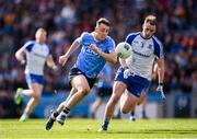 25 March 2018; Cormac Costello of Dublin in action against Conor Boyle of Monaghan during the Allianz Football League Division 1 Round 7 match between Dublin and Monaghan at Croke Park in Dublin. Photo by Stephen McCarthy/Sportsfile