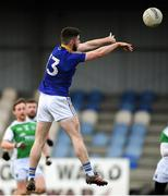 25 March 2018; Robbie Smyth of Longford scoring his side's first goal during the Allianz Football League Division 3 Round 7 match between Longford and Fermanagh at Glennon Brothers Pearse Park in Longford. Photo by Eóin Noonan/Sportsfile
