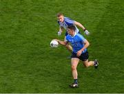 25 March 2018; Brian Howard of Dublin in action against Colin Walshe of Monaghan during the Allianz Football League Division 1 Round 7 match between Dublin and Monaghan at Croke Park in Dublin. Photo by Ray McManus/Sportsfile