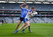 25 March 2018; Conor Boyle of Monaghan in action against Cormac Costello of Dublin during the Allianz Football League Division 1 Round 7 match between Dublin and Monaghan at Croke Park in Dublin. Photo by Stephen McCarthy/Sportsfile