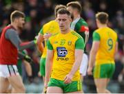 25 March 2018; A dejected Patrick McBrearty of Donegal leaves the pitch after the Allianz Football League Division 1 Round 7 match between Donegal and Mayo at MacCumhaill Park in Ballybofey, Donegal. Photo by Oliver McVeigh/Sportsfile