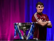 26 March 2018; The 2018 Allianz Football League Division 1 Final takes place at Croke Park this Sunday April 1st. In attendance at a photocall ahead of the Allianz Football League Division 1 Final is Shane Walsh of Galway, at Croke Park, Dublin. Photo by Seb Daly/Sportsfile