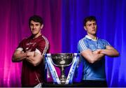 26 March 2018; The 2018 Allianz Football League Division 1 Final takes place at Croke Park this Sunday April 1st. In attendance at a photocall ahead of the Allianz Football League Division 1 Final is Shane Walsh of Galway, left, and John Small of Dublin, at Croke Park, Dublin. Photo by Seb Daly/Sportsfile