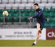 26 March 2018; Declan Rice during Republic of Ireland U21 squad training at Tallaght Stadium in Dublin. Photo by Eóin Noonan/Sportsfile