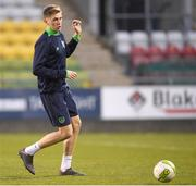 26 March 2018; Jimmy Dunne during Republic of Ireland U21 squad training at Tallaght Stadium in Dublin. Photo by Eóin Noonan/Sportsfile