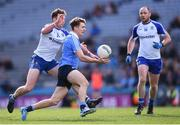 25 March 2018; Michael Fitzsimons of Dublin and Fintan Kelly of Monaghan during the Allianz Football League Division 1 Round 7 match between Dublin and Monaghan at Croke Park in Dublin. Photo by Stephen McCarthy/Sportsfile