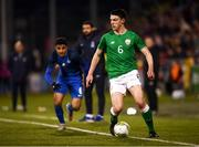 27 March 2018; Declan Rice of Republic of Ireland during the UEFA U21 Championship Qualifier match between the Republic of Ireland and Azerbaijan at Tallaght Stadium in Dublin. Photo by Stephen McCarthy/Sportsfile