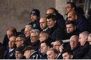 27 March 2018; Republic of Ireland assistant manager Roy Keane watches on during the UEFA U21 Championship Qualifier match between the Republic of Ireland and Azerbaijan at Tallaght Stadium in Dublin. Photo by Stephen McCarthy/Sportsfile