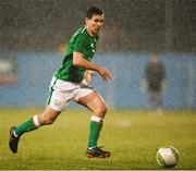27 March 2018; Josh Cullen of Republic of Ireland during the UEFA U21 Championship Qualifier match between the Republic of Ireland and Azerbaijan at Tallaght Stadium in Dublin. Photo by Stephen McCarthy/Sportsfile