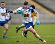18 March 2018; Darren Hughes of Monaghan during the Allianz Football League Division 1 Round 6 match between Monaghan and Donegal at St. Tiernach's Park in Clones, Monaghan. Photo by Oliver McVeigh/Sportsfile