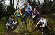 29 March 2018; In attendance, from left, Liam Glynn of Dublin Plunkett, Gearóid McCormack of Offaly, Conor Cosgrove of Laois, Eddie Kelly of Wexford and Tom Gleeson of Dublin Clarke at the launch of the Bank of Ireland Celtic Challenge 2018 at Iveagh Gardens in Dublin. Photo by David Fitzgerald/Sportsfile