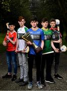 29 March 2018; In attendance, from left, Conor Ryan of West Cork, TJ Murphy of Limerick Sarsfields, Cormac Murphy of Clare Blues, Ruarí O'Sullivan of Kelly and Graham Carrick of North Cork at the launch of the Bank of Ireland Celtic Challenge 2018 at Iveagh Gardens in Dublin. Photo by David Fitzgerald/Sportsfile