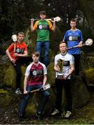 29 March 2018; In attendance, from left, Jake Somers of Carlow, Pearse Weir-Norris of Westmeath, Ruairí Coulter of Meath, Eden O'Reilly of Kildare and Conor Connolly of Wicklow at the launch of the Bank of Ireland Celtic Challenge 2018 at Iveagh Gardens in Dublin. Photo by David Fitzgerald/Sportsfile