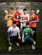 29 March 2018; In attendance, from left, Ciarán Magill of Antrim, Fergal Donaghy of Tyrone, Ciarán Watson of Down, Eoghan Cassidy of Derry, Tom Keenan of Fermanagh and Seán Óg McGuinness of Armagh at the launch of the Bank of Ireland Celtic Challenge 2018 at Iveagh Gardens in Dublin. Photo by David Fitzgerald/Sportsfile
