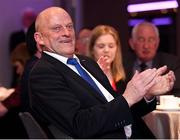 29 March 2018; Former Clare hurling manager Ger Loughnane during the GAA MacNamee Awards at Croke Park in Dublin. Photo by Matt Browne/Sportsfile