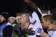 30 March 2018; Paul Keegan of Waterford FC celebrates after scoring his side's second goal during the SSE Airtricity League Premier Division match between Limerick and Waterford at Market's Field in Limerick. Photo by Matt Browne/Sportsfile