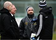 31 March 2018; Tipperary selector Shane Stapleton , centre, before the Allianz Football League Roinn 2 Round 6 match between Down and Tipperary at Páirc Esler in Newry, Co Down. Photo by Oliver McVeigh/Sportsfile