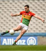 31 March 2018; Brendan Murphy of Carlow during the Allianz Football League Division 4 Final match between Carlow and Laois at Croke Park in Dublin. Photo by David Fitzgerald/Sportsfile