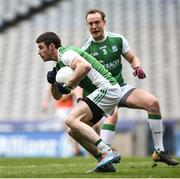 31 March 2018; Micky Jones of Fermanagh during the Allianz Football League Division 3 Final match between Armagh and Fermanagh at Croke Park in Dublin. Photo by David Fitzgerald/Sportsfile