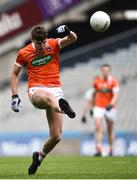 31 March 2018; Niall Grimley of Armagh during the Allianz Football League Division 3 Final match between Armagh and Fermanagh at Croke Park in Dublin. Photo by David Fitzgerald/Sportsfile