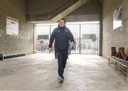 1 April 2018; Wexford manager Davy Fitzgerald on his way to the dressing room prior to the Allianz Hurling League Division 1 semi-final match between Wexford and Kilkenny at Innovate Wexford Park in Wexford. Photo by Matt Browne/Sportsfile