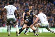 1 April 2018; Cian Healy of Leinster during the European Rugby Champions Cup quarter-final match between Leinster and Saracens at the Aviva Stadium in Dublin. Photo by Ramsey Cardy/Sportsfile