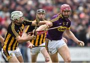 1 April 2018; Paudie Foley of Wexford in action against Padraig Walsh of Kilkenny during the Allianz Hurling League Division 1 semi-final match between Wexford and Kilkenny at Innovate Wexford Park in Wexford. Photo by Matt Browne/Sportsfile