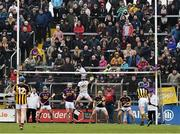1 April 2018; TJ Reid of Kilkenny scores from a free against Wexford during the Allianz Hurling League Division 1 semi-final match between Wexford and Kilkenny at Innovate Wexford Park in Wexford. Photo by Matt Browne/Sportsfile