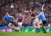 1 April 2018; Johnny Heaney of Galway in action against Brian Howard of Dublin during the Allianz Football League Division 1 Final match between Dublin and Galway at Croke Park in Dublin. Photo by Stephen McCarthy/Sportsfile