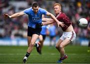 1 April 2018; Dean Rock of Dublin in action against Declan Kyne of Galway during the Allianz Football League Division 1 Final match between Dublin and Galway at Croke Park in Dublin. Photo by Stephen McCarthy/Sportsfile