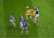1 April 2018; Tadhg O'Rourke of Roscommon in action against Gearóid McKiernan of Cavan during the Allianz Football League Division 2 Final match between Cavan and Roscommon at Croke Park in Dublin. Photo by Daire Brennan/Sportsfile