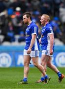 1 April 2018; Seánie Johnston, left, and Cian Mackey of Cavan dejected after the Allianz Football League Division 2 Final match between Cavan and Roscommon at Croke Park in Dublin. Photo by Piaras Ó Mídheach/Sportsfile