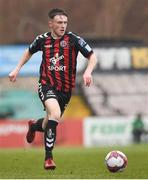 2 April 2018; Danny Grant of Bohemians during the EA SPORTS Cup Second Round match between Bohemians and UCD at Dalymount Park in Dublin. Photo by Tom Beary/Sportsfile
