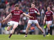 1 April 2018; Johnny Heaney of Galway during the Allianz Football League Division 1 Final match between Dublin and Galway at Croke Park in Dublin. Photo by Stephen McCarthy/Sportsfile