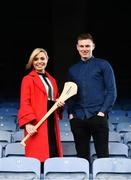 3 April 2018; Littlewoods Ireland today launched the GAA Go Games Provincial Days with their ambassadors; former All Ireland Champion with Cork Anna Geary and Waterford hurler Austin Gleeson. This is the second year that Littlewoods Ireland have been involved in this once-in-a-lifetime opportunity to give children all over the country the chance to play in Croke Park Stadium. The initiative will see over 4,000 children from Leinster and Munster take part in mini versions of hurling and football blitzes at Croke Park over the course of a week during the Easter holidays. The Go Games Provincial Days for Ulster and Connacht will take place in September. Pictured are former All Ireland Champion with Cork Anna Geary and Waterford hurler Austin Gleeson at Croke Park, in Dublin. Photo by Sam Barnes/Sportsfile
