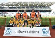 3 April 2018; Two Mile House GAA during Day 1 of the The Go Games Provincial days in partnership with Littlewoods Ireland at Croke Park in Dublin. Photo by David Fitzgerald/Sportsfile